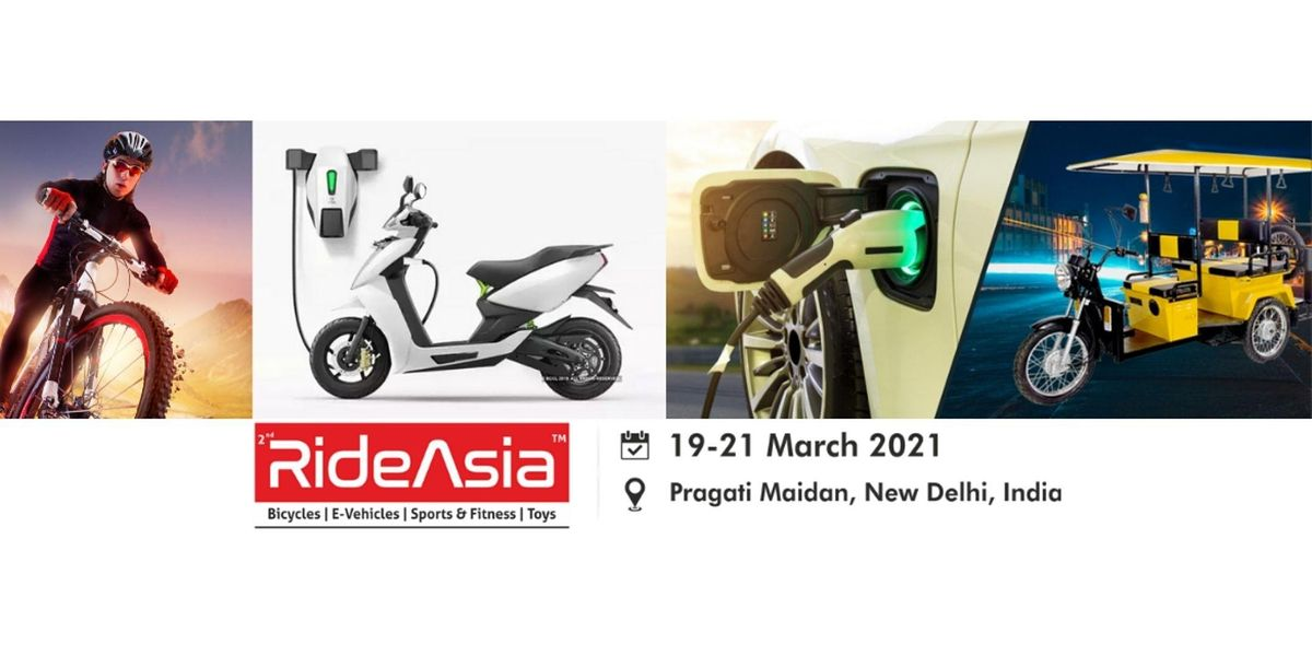RideAsia 2021 Bicycle, Electric-Vehicles, Sports Fitness & Ride-Ons, 19 March | Event in New Delhi | AllEvents.in