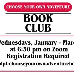 Choose Your Own Adventure Book Club