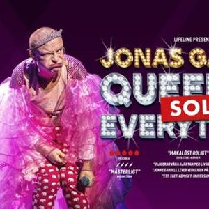 Jonas Gardell - Queen of  everything SOLO  Kungsbacka