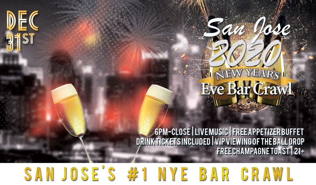 San Jose NYE Bar Crawl