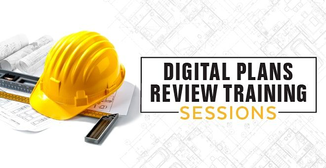 Digital Plans Review Training Session, 4 November | Online Event | AllEvents.in