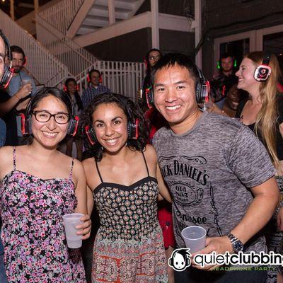Outdoor Silent Disco Party  The Belmont - Austin TX