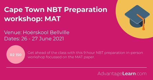 NBT MAT Preparation workshop: Cape Town, 26 June   Event in Bellville   AllEvents.in
