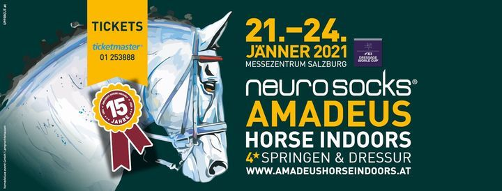 2020 Amadeus Horse Indoors, 3 December | Event in Salzburg | AllEvents.in