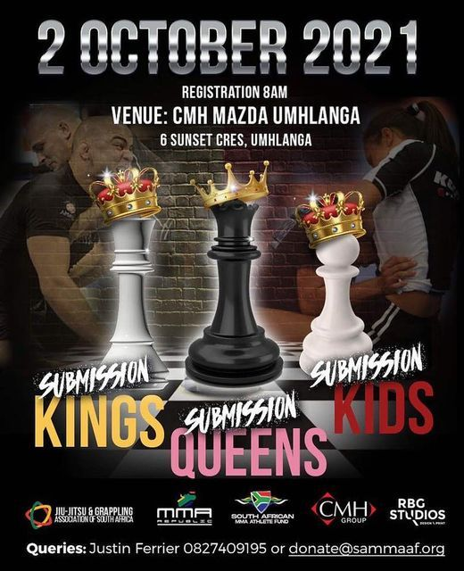 Submission Kings & Queens 02, 2 October | Event in Umhlanga | AllEvents.in