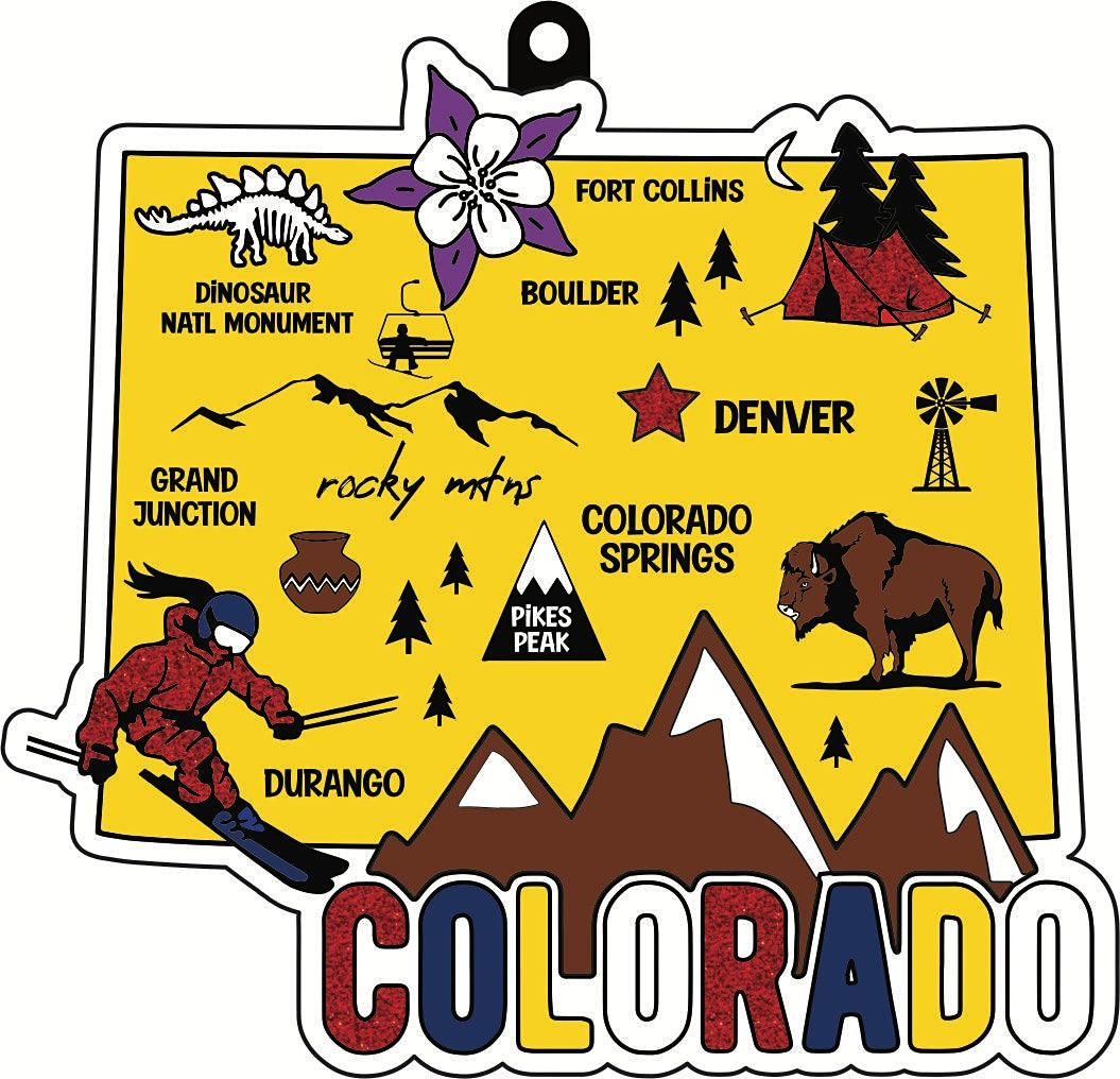 2021 Race Thru Colorado 5K 10K 13.1 26.2 -Participate from Home Save $5   Event in Little Rock   AllEvents.in