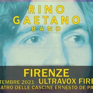Rino Gaetano Band  Ultravox Firenze Anfiteatro delle Cascine Ernesto de Pascale