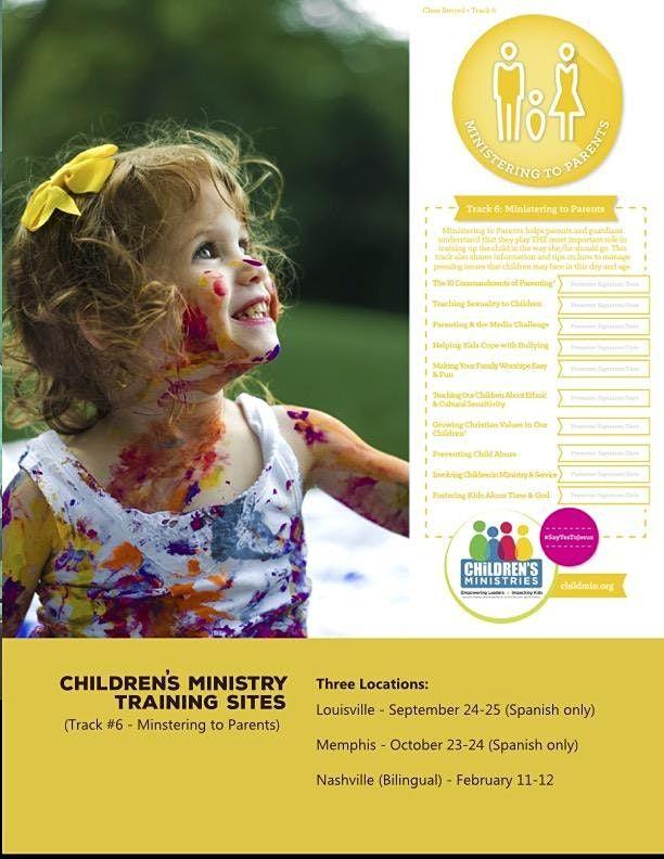 Certificación de Ministerio Infantil (Ministrando a Padres), 23 October | Event in Memphis | AllEvents.in