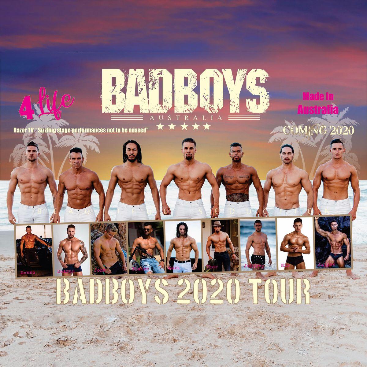 Badboys Australia is BACK by popular demand in Christchurch 2020