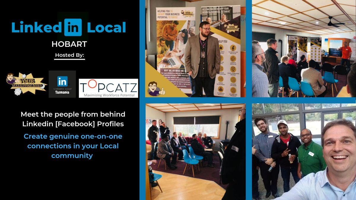 LinkedIn Local - Hobart September 17th 2019
