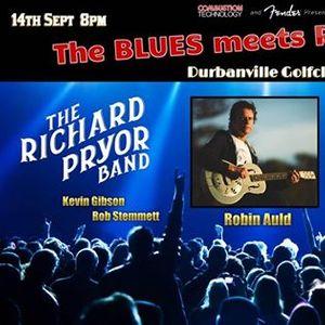 The BLUES MEETS ROCK Show - ROBIN AULD Nhoza & Mr Bardo
