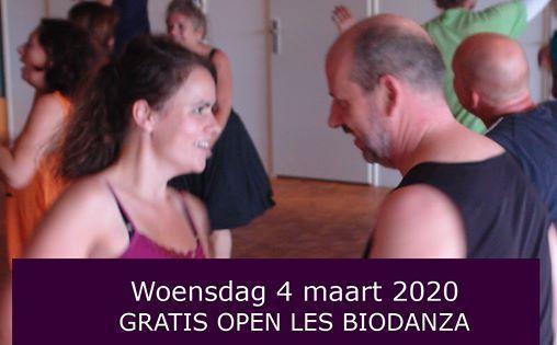 Biodanza Deventer - Open les - 4 maart 2020