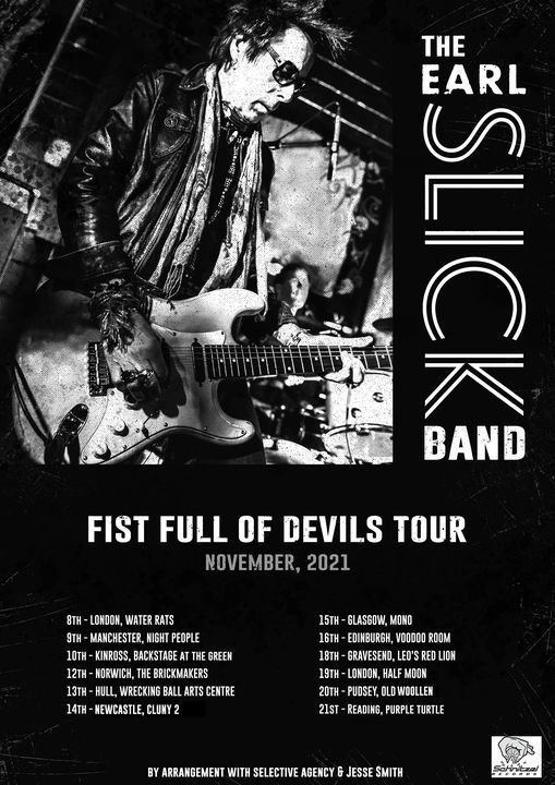 The Earl Slick Band - Live at The Cluny 2, 14 November   Event in Newcastle upon Tyne   AllEvents.in