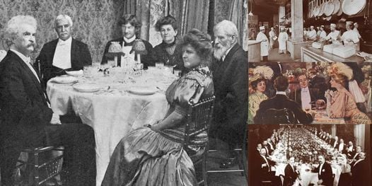 'Food and Dining in New York's Gilded Age' Webinar, 29 March | Online Event | AllEvents.in