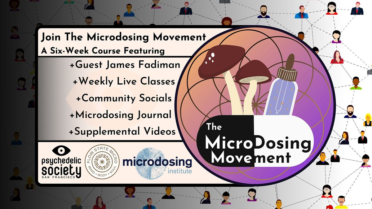 The Microdosing Movement   Online Event   AllEvents.in
