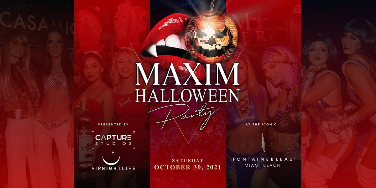 Maxim Halloween Party - Miami, 30 October | Event in Miami Beach | AllEvents.in