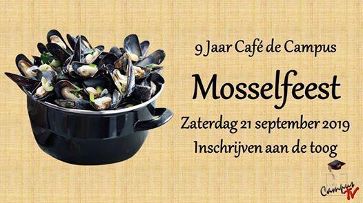 Mosselfeest - 9 jaar Cafe de Campus