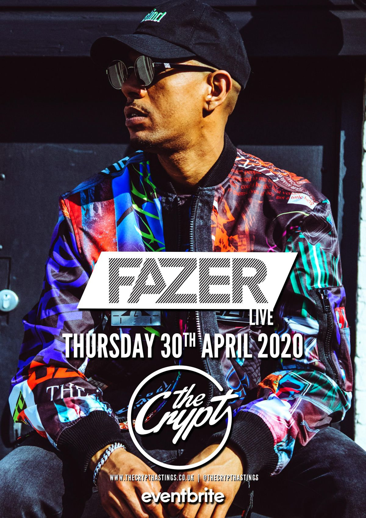 Fazer | Live at The Crypt, 7 May | Event in Hastings | AllEvents.in