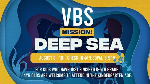 Summer Blast VBS- Mission: Deep Sea, 8 August | Event in Bolivar | AllEvents.in