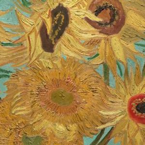 Exhibition on Screen Sunflowers