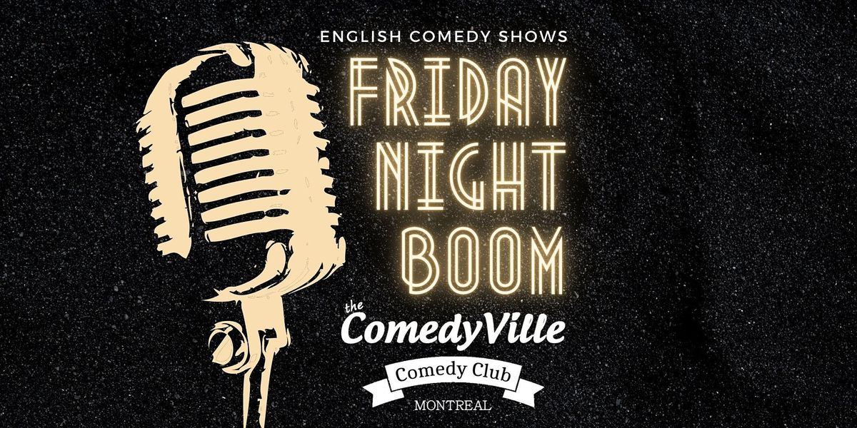 Stand up English Comedy Shows Montreal at Comedy Club in Downtown Montreal, 19 March | Event in Montréal