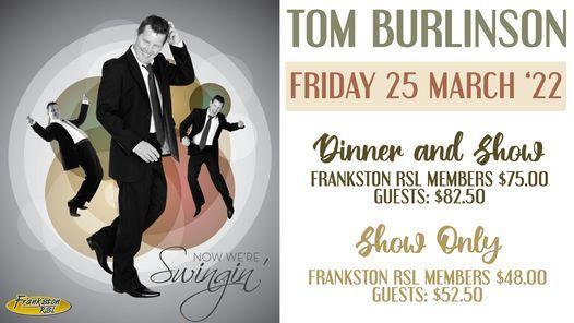 Tom Burlinson - Now We're Swingin' | Event in Frankston | AllEvents.in