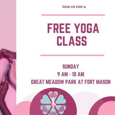 Free Yoga at Fort Mason