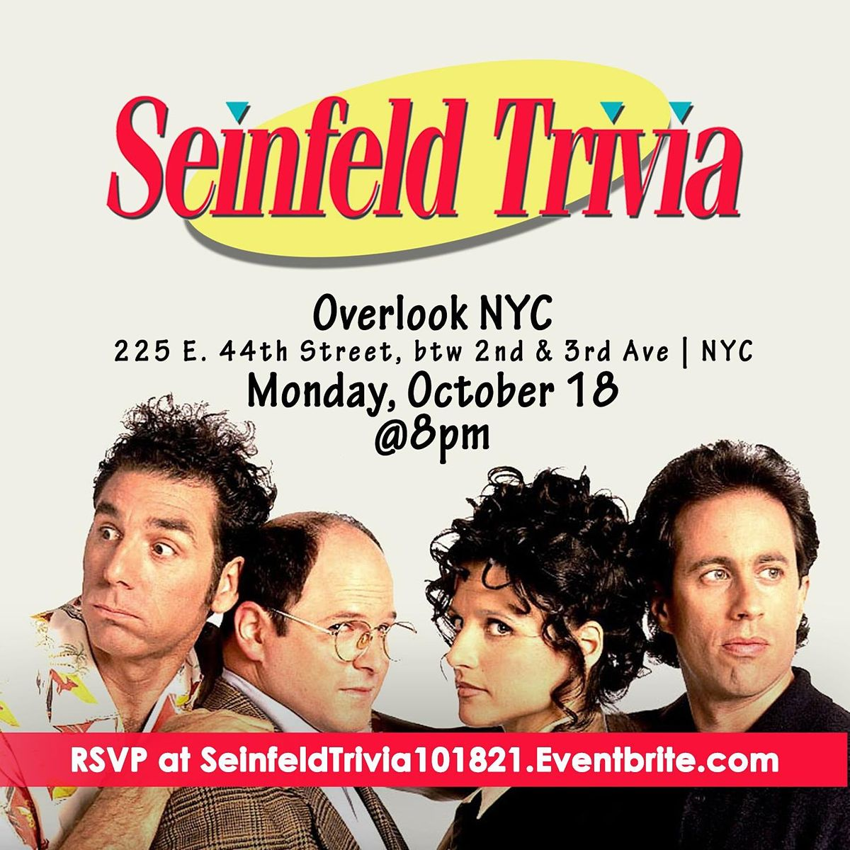 Seinfeld Trivia | Event in New York | AllEvents.in