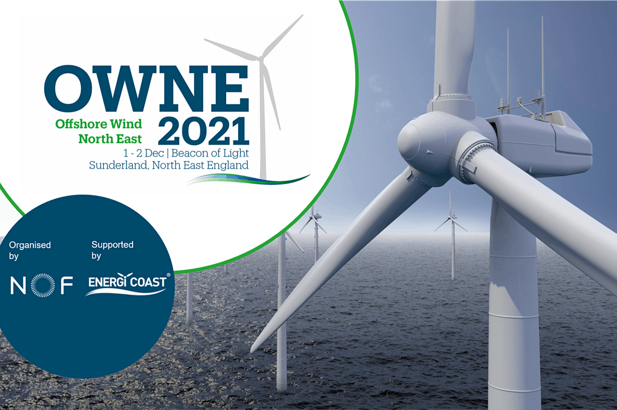 Offshore Wind North East 2021 (OWNE), 1 December | Event in Monkwearmouth | AllEvents.in