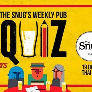 The Snug Weekly Pub Quiz