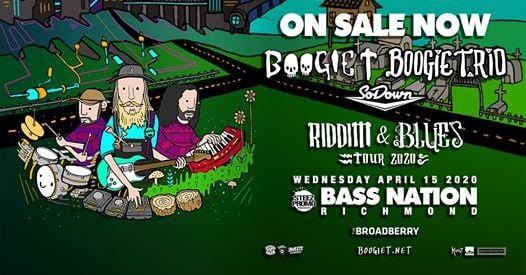 Boogie T and Boogie T.rio Riddim and Blues Tour - Richmond