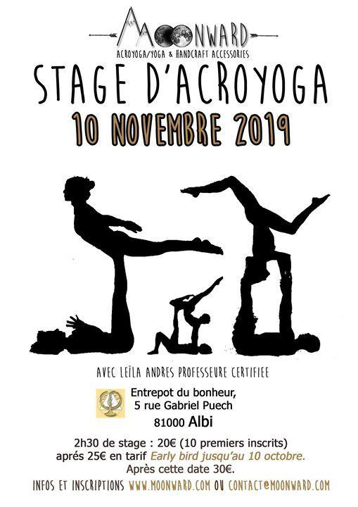 Stage Acroyoga Albi