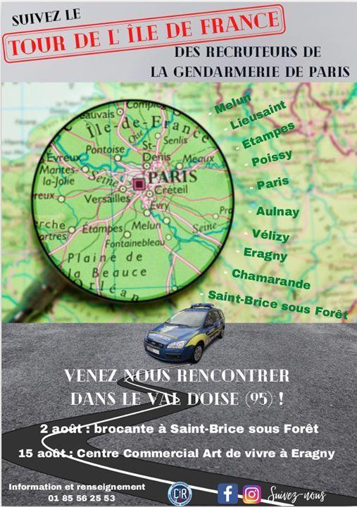 Tour de lle de France des recruteurs du CIR de Paris