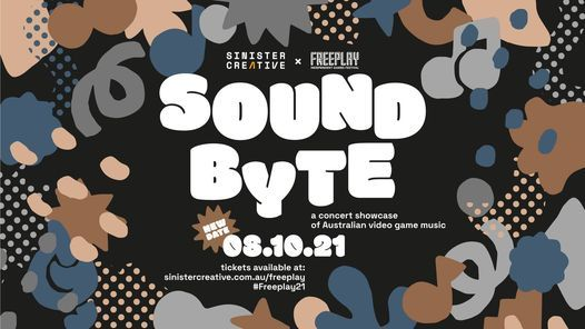 [NEW DATE] SOUND BYTE: A concert showcase of Australian video game music, 8 October | Event in Prahran | AllEvents.in