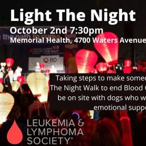 LLS Light The Night with HSGS