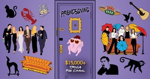 Grand Rapids - Friendsgiving Trivia Pub Crawl - $15K+ in Prizes, 20 November | Event in Grand Rapids | AllEvents.in