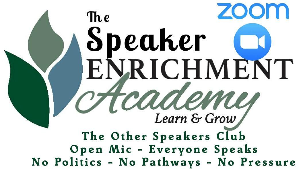 Call For Public Speakers - Open Mic Night NOW VIRTUAL ON ZOOM | Online Event | AllEvents.in