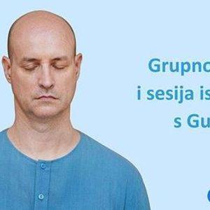 Grupno pojanje i sesija iscjeljivanja s Guruom