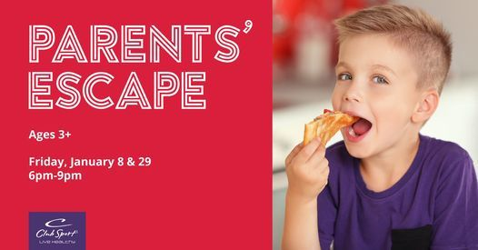 Parents' Escape, 29 January | Event in Aliso Viejo | AllEvents.in
