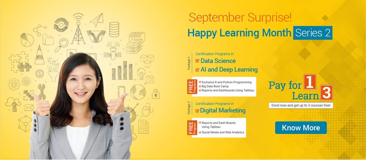 Happy Learning Month Series 2