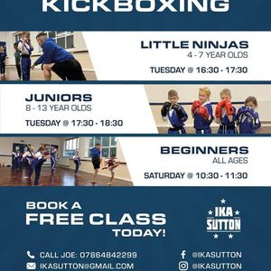 Beginners Kickboxing (Ages 4-13)