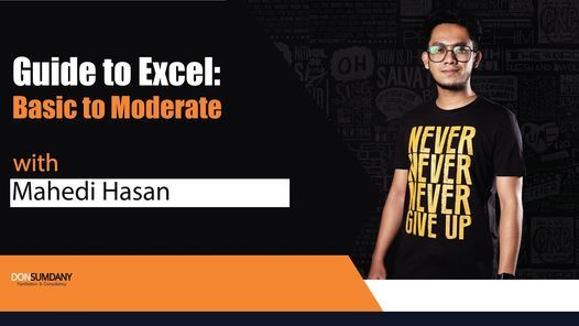Guide to Excel: Basic to Moderate, 19 December | Online Event | AllEvents.in
