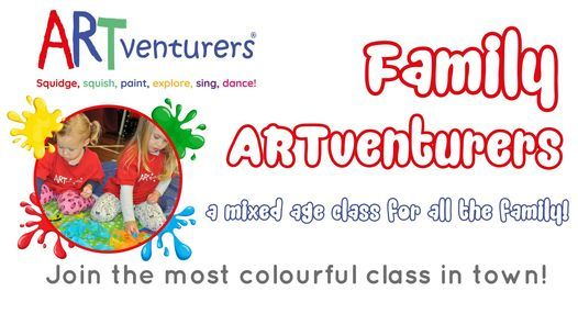 ARTventurers Family Class - Winter Term! | Event in Coventry | AllEvents.in