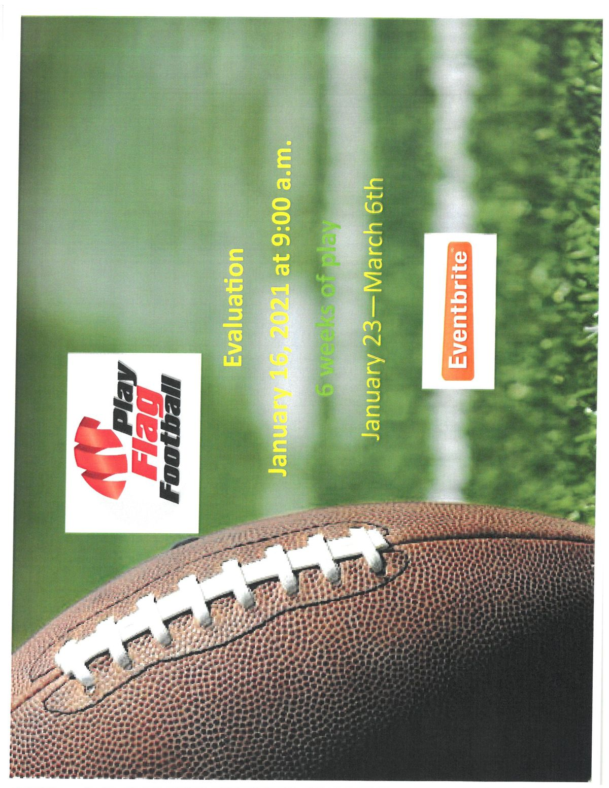 Hillside Sports Ministry - Flag Football (Kids aged K - 5th grade) | Event in Brooksville | AllEvents.in