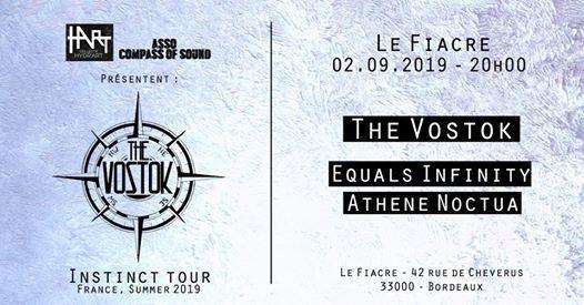 The Vostok  Equals Infinity  Athene Noctua Le Fiacre