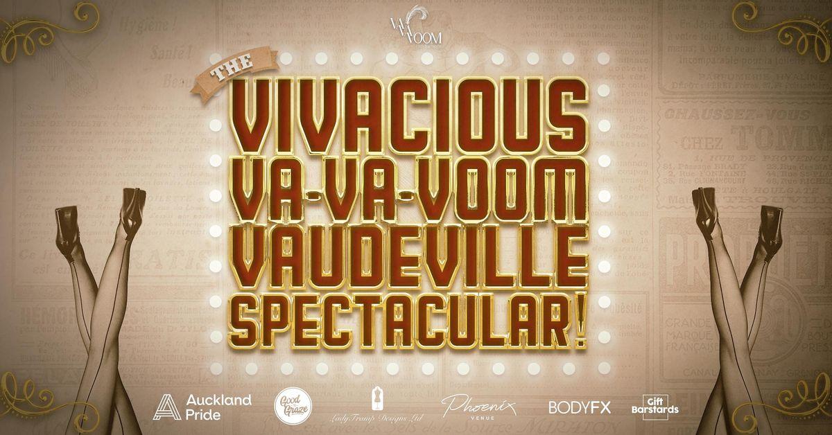 The Vivacious, Va-Va-Voom, Vaudeville Spectacular!, 18 November   Event in Auckland   AllEvents.in