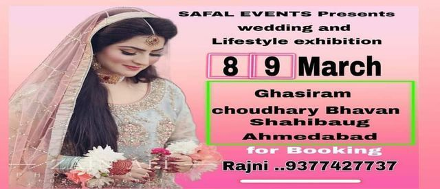 Wedding & Lifestyle Exhibition, 8 March | Event in Ahmedabad | AllEvents.in
