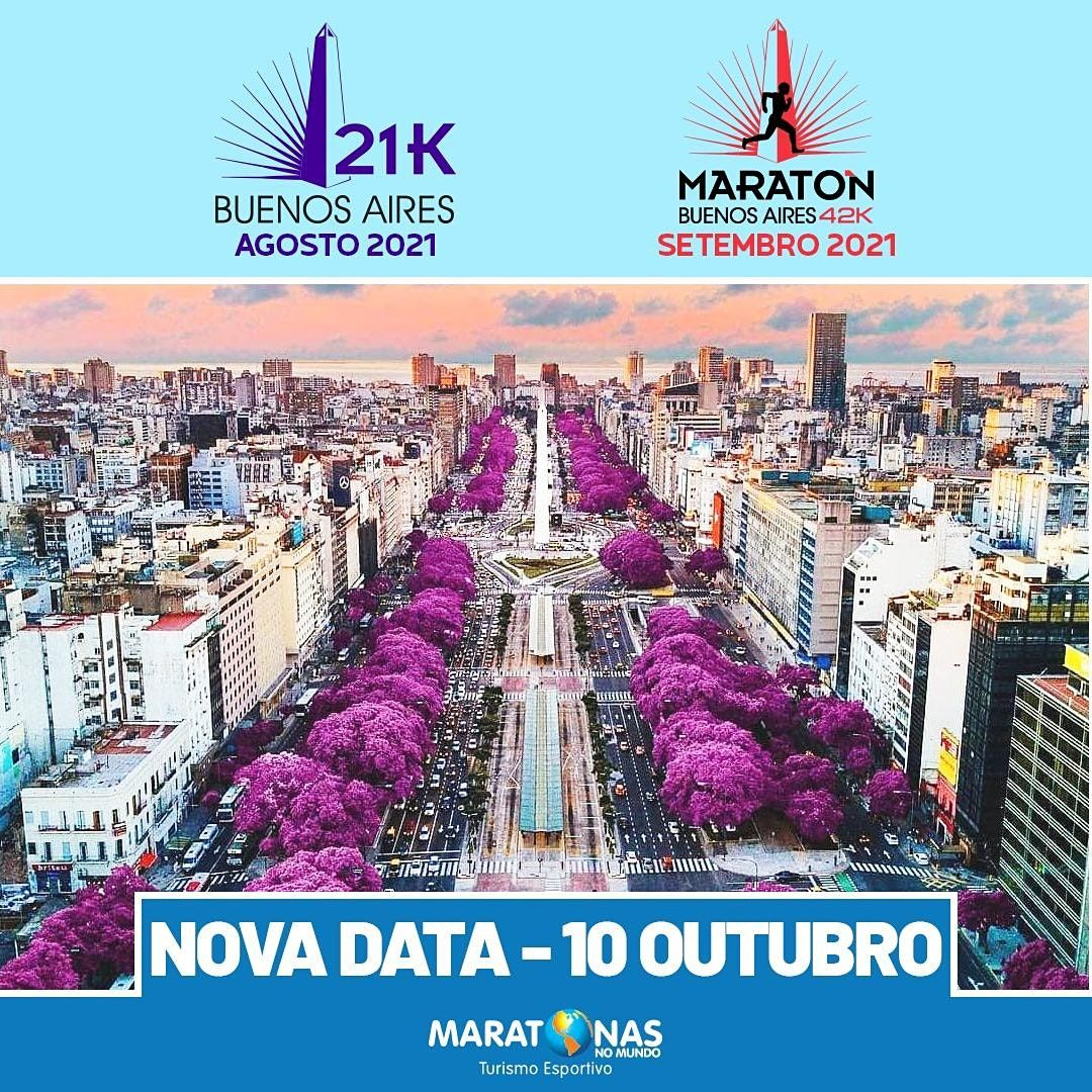 Maratona e Meia Maratona de Buenos Aires 2021, 10 October | Event in Vicente López | AllEvents.in
