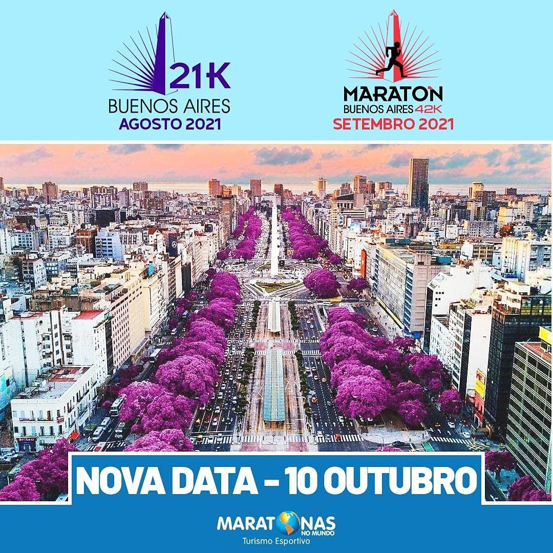Maratona e Meia Maratona de Buenos Aires 2021, 10 October   Event in Vicente López   AllEvents.in