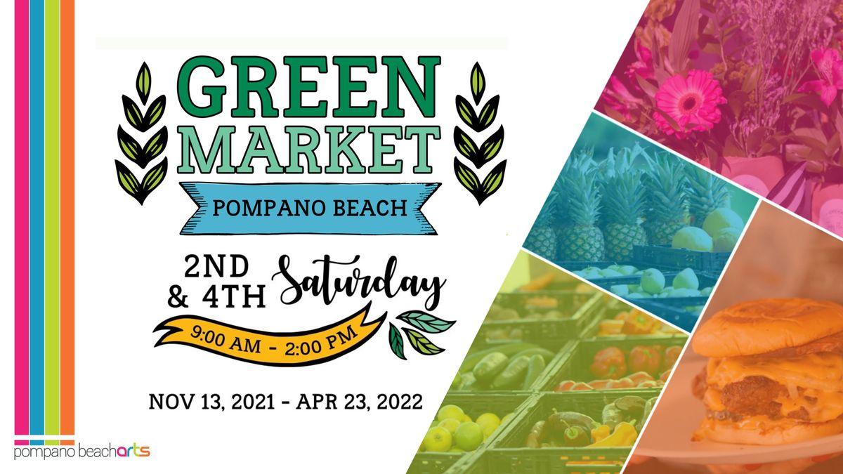 Green Market Pompano Beach, 13 November | Event in Pompano Beach | AllEvents.in